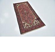 Link to 97cm x 195cm Hamedan Persian Runner Rug