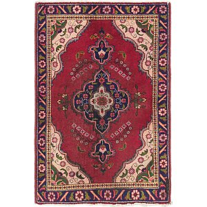 Link to 100cm x 145cm Tabriz Persian Rug item page