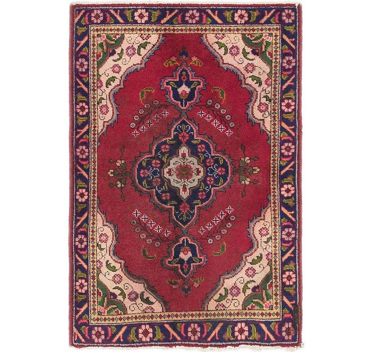 3' 3 x 4' 9 Tabriz Persian Rug