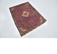 Link to 3' 5 x 4' 7 Hossainabad Persian Rug