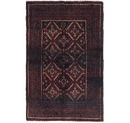 Link to 3' 5 x 5' 2 Balouch Persian Rug