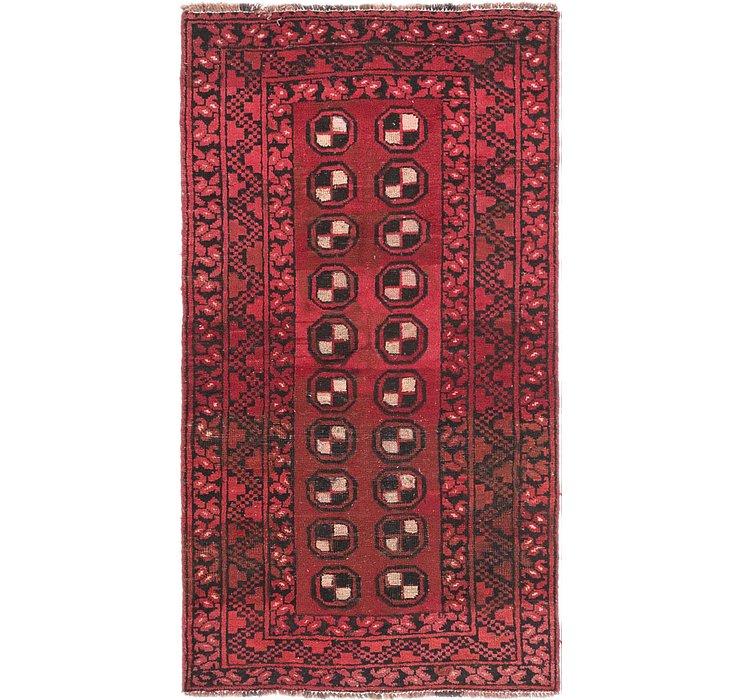 3' x 5' 6 Shiraz Persian Rug
