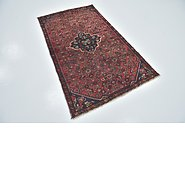 Link to 3' 5 x 6' Hossainabad Persian Runner Rug