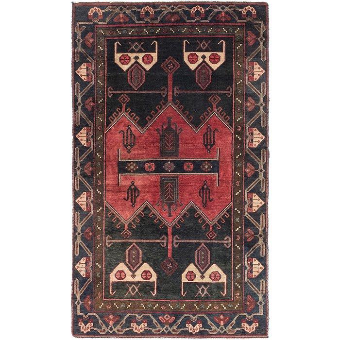 4' 2 x 7' 2 Sirjan Persian Rug