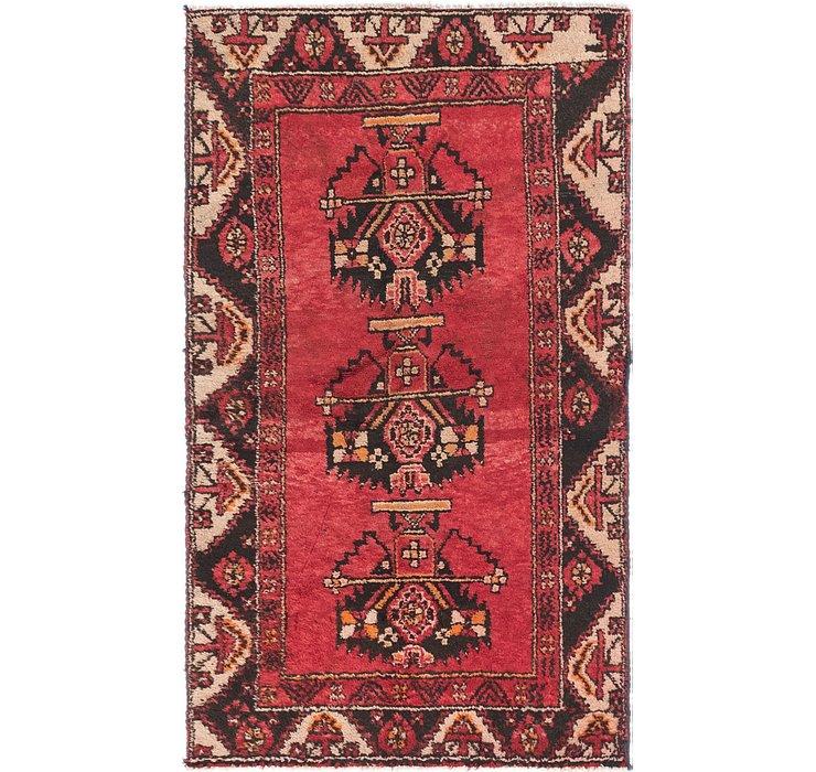 3' 4 x 5' 9 Ferdos Persian Rug