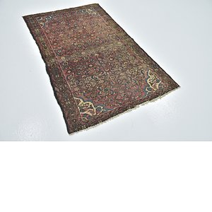 Link to 3' 2 x 4' 9 Hossainabad Persian Rug item page
