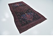Link to 4' 9 x 9' 9 Sirjan Persian Runner Rug