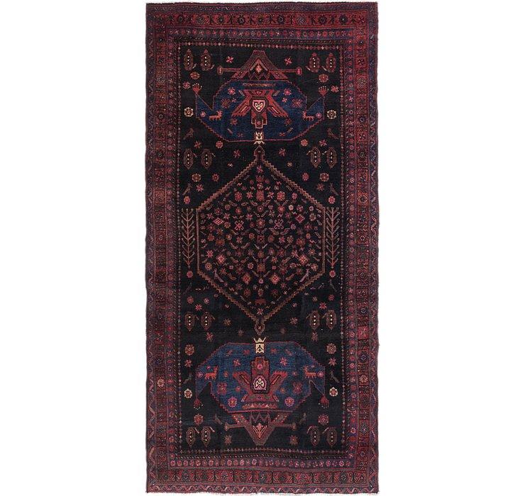 4' 9 x 9' 9 Sirjan Persian Runner Rug