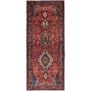 3' 8 x 8' Hamedan Persian Runner ...