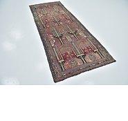 Link to 3' 7 x 9' 1 Shiraz Persian Runner Rug
