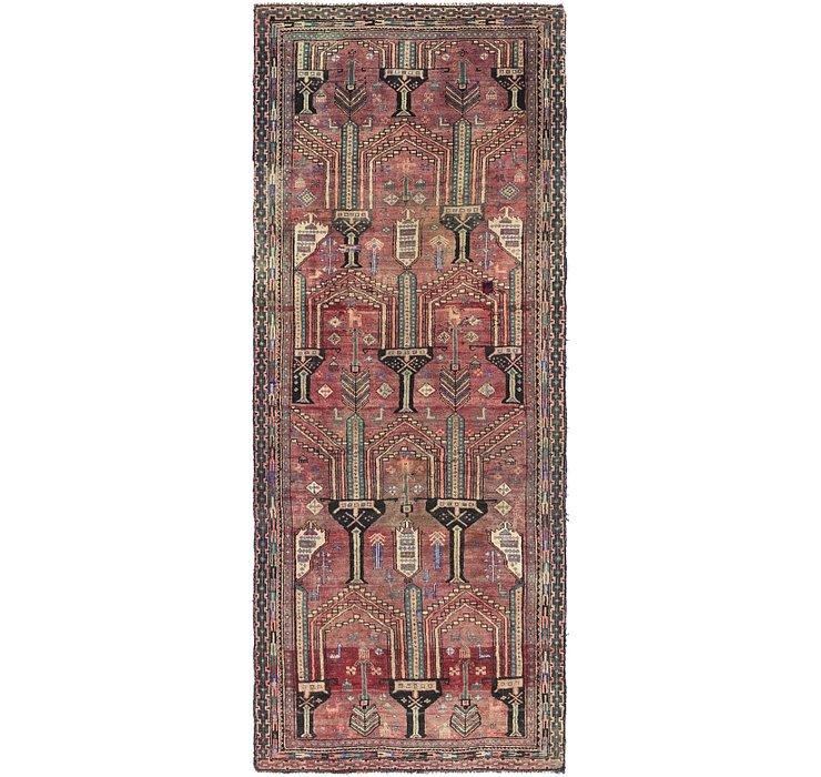 3' 7 x 9' 1 Shiraz Persian Runner Rug