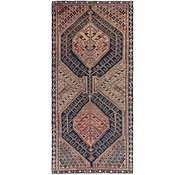 Link to 4' 8 x 10' Shiraz Persian Runner Rug