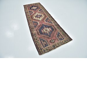 Link to 97cm x 290cm Hamedan Persian Runner ... item page
