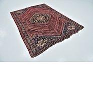 Link to 5' 7 x 7' 4 Ghashghaei Persian Rug