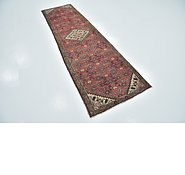 Link to 2' 6 x 9' Hossainabad Persian Runner Rug