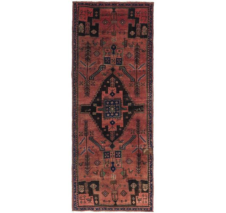 4' x 10' 2 Zanjan Persian Runner Rug