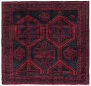 Link to 5' 6 x 5' 8 Shiraz Persian Square Rug