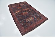 Link to 4' 8 x 8' Sirjan Persian Rug