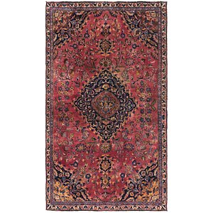 Link to 4' 9 x 8' 4 Mashad Persian Rug item page