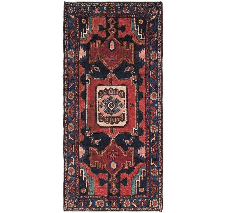 4' 2 x 9' 6 Zanjan Persian Runner Rug