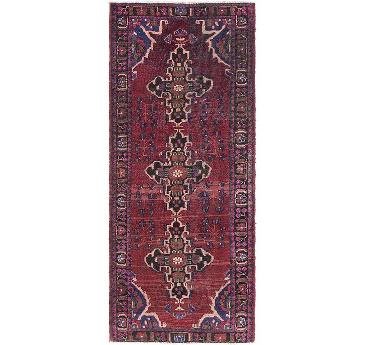 3' 10 x 9' 9 Ferdos Persian Runner Rug
