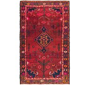 Link to 4' 8 x 8' Hamedan Persian Runner Rug