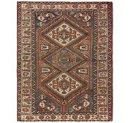 Link to 4' 9 x 6' 3 Hamedan Persian Rug