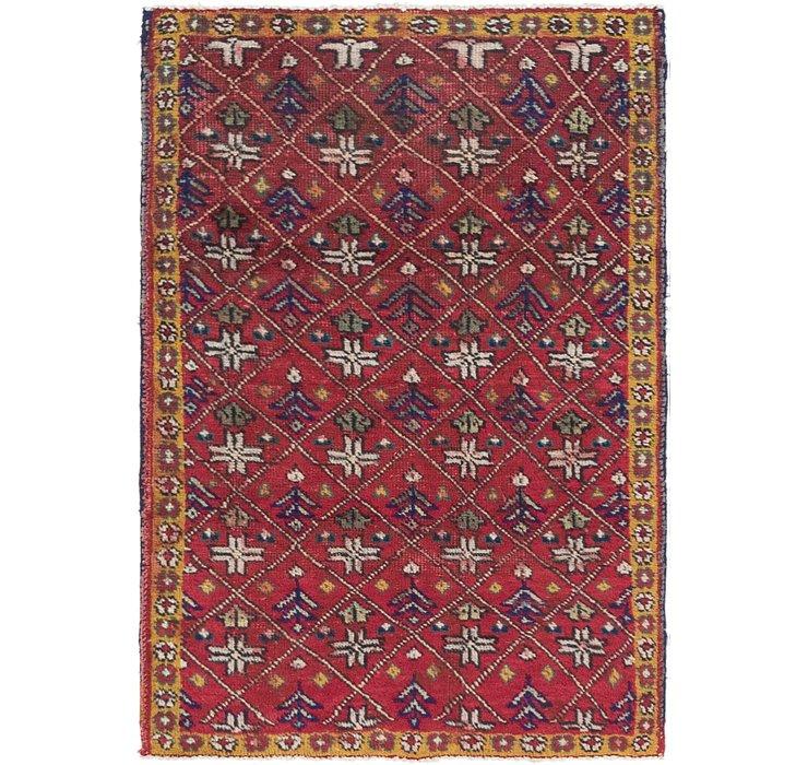 3' 3 x 4' 7 Tabriz Persian Rug