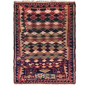 Link to 4' 3 x 5' 9 Shiraz Persian Rug