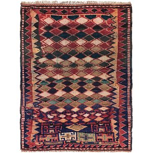Link to 130cm x 175cm Shiraz Persian Rug item page