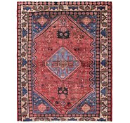 Link to 4' 10 x 6' 3 Hamedan Persian Rug