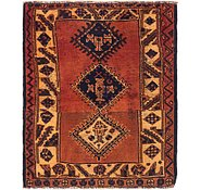 Link to 3' 8 x 4' 3 Shiraz Persian Square Rug