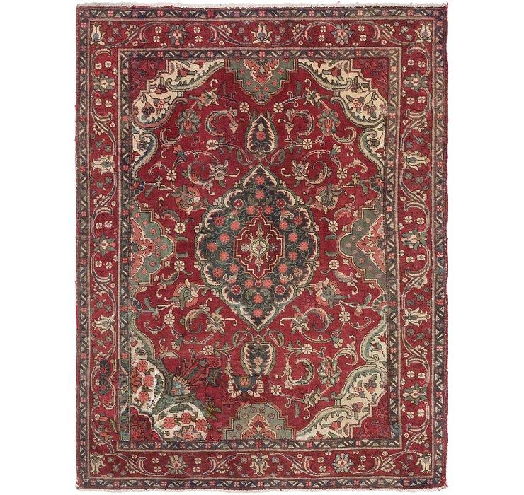 4' 8 x 6' 2 Tabriz Persian Rug