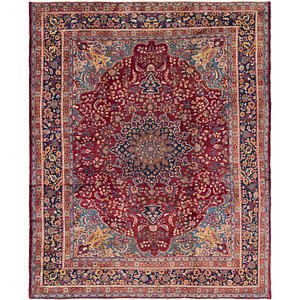 Unique Loom 9' 10 x 12' 2 Mashad Persian Rug
