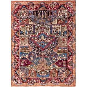 9' 5 x 12' 5 Kashmar Persian Rug
