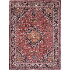 Link to 300cm x 395cm Mashad Persian Rug item page