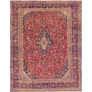 Link to 9' 4 x 11' 10 Mashad Persian Rug item page