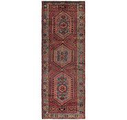 Link to HandKnotted 3' 3 x 9' 8 Zanjan Persian Runner Rug