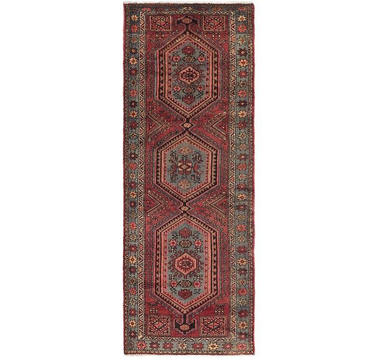 3' 3 x 9' 8 Zanjan Persian Runner Rug