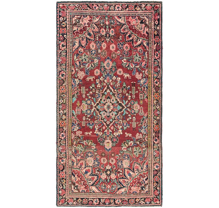 4' 6 x 9' Borchelu Persian Runner...
