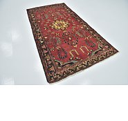Link to 4' 6 x 8' 9 Hamedan Persian Runner Rug