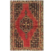 Link to 4' x 6' 3 Mazlaghan Persian Rug