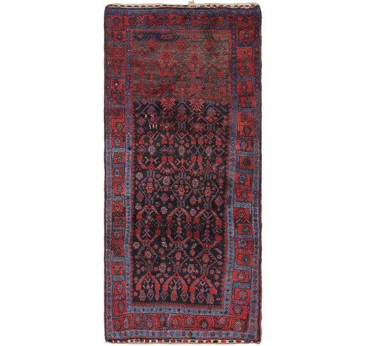 4' x 8' 9 Zanjan Persian Runner Rug