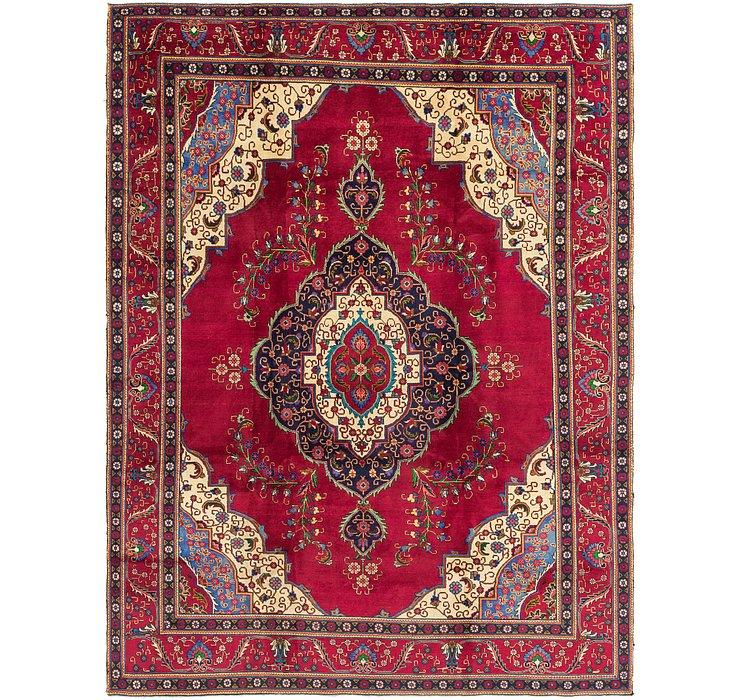 9' 8 x 12' 9 Tabriz Persian Rug
