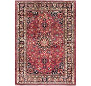 Link to 7' 2 x 9' 9 Mashad Persian Rug