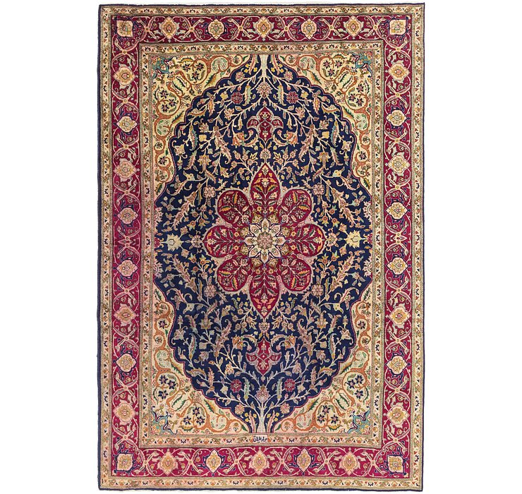 HandKnotted 8' x 11' 9 Tabriz Persian Rug