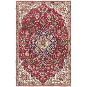 Unique Loom 5' 4 x 8' 3 Tabriz Persian Rug