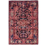 Link to 3' 5 x 5' Nahavand Persian Rug