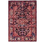 Link to 3' 5 x 5' Nahavand Persian Rug