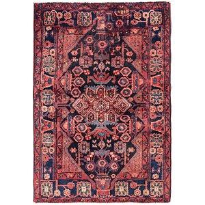 Link to 3' 5 x 5' Nahavand Persian Rug item page